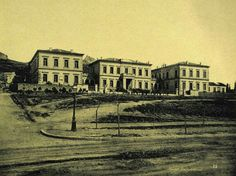 1890 ~ Evangelismos Hospital in Athens Greece Pictures, Old Pictures, Old Photos, Vintage Photos, Greek History, Athens Greece, Old City, Back In The Day, Historical Photos