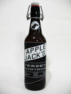 Apple Jack's Jersey Lightning by Timothy Ziegler, via Behance