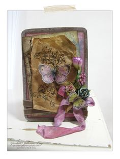 A Butterfly Card for my Grandmother - Scrapbook.com