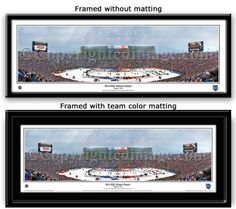 NHL Winter Classic 2014 Michigan Stadium Framed Picture - MyTeamPrints.com