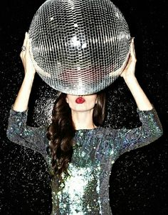 follow the call of the disco ball