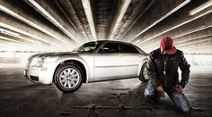 Eckechi by Joel Grimes Photography, via Flickr   I want to shoot in a garage like this one
