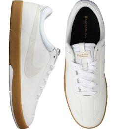 Nike SB Eric Koston Skate Shoes - White Swan-Gum-Light Brown  77.00 80cf11e1d2b