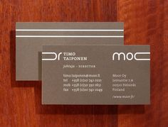 Hahmo | Graphic Design | Moor | Business card