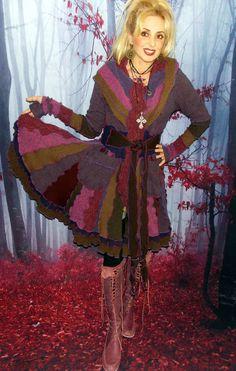 Sweater coat  SC1028 by ZsuzsiShop on Etsy