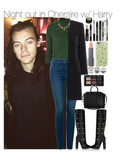 """""""Night out in Chersire w/ Harry"""" by your-fashion-lover ❤ liked on Polyvore featuring Topshop, NYDJ, Lord & Berry, Tom Ford, Givenchy, Casetify, NARS Cosmetics, Easy Spirit, OneDirection and harrystyles"""