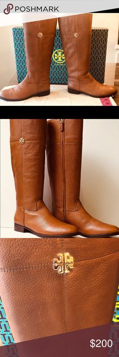 27803d53ee26 Tory Burch Jolie Riding Boots Size 9. Jolie Riding Boots- slightly used  with stain