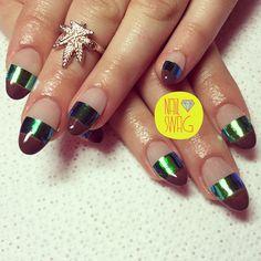 THE BARDOT NAIL for Carina! #nailswag #nails #nailart #nailartclub #swag #gelnail #LA