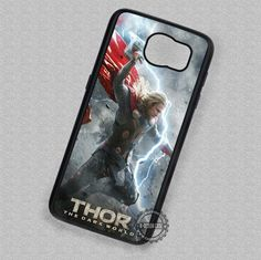 Lighting Thor The Dark World - Samsung Galaxy S7 S6 S5 Note 7 Cases & Covers