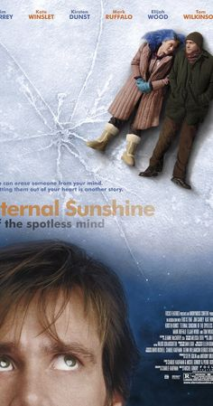 Directed by Michel Gondry.  With Jim Carrey, Kate Winslet, Tom Wilkinson, Gerry Robert Byrne. When their relationship turns sour, a couple undergoes a procedure to have each other erased from their memories. But it is only through the process of loss that they discover what they had to begin with.