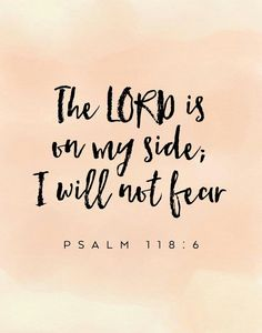Amen, He puts your fears to rest.