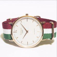 Genesis Launch Edition Unisex Rose Gold Watch - Italian Design NATO Strap