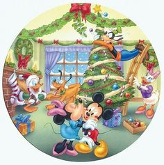 Mickey and his friends Natal Do Mickey Mouse, Mickey Mouse E Amigos, Mickey E Minnie Mouse, Mickey Mouse Cartoon, Mickey Mouse And Friends, Disney Mickey, Disney Merry Christmas, Disney Christmas Decorations, Mickey Mouse Christmas