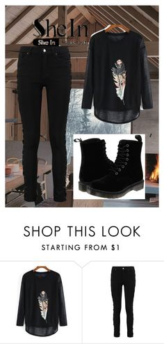 """""""SheIn"""" by lejla150 ❤ liked on Polyvore featuring Dr. Martens"""