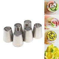 Feature: Brand new and high quality. 6 differently ended icing nozzles. Stylish and classic appearan