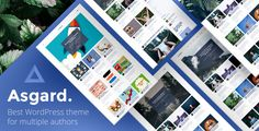 Asgard -  Multi Authors Magazine/News WordPress Theme