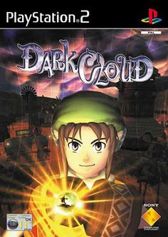 Dark Cloud Playstation 2 game on sale in great condition, tested works like new and backed by our 120 day warranty available for sale. Playstation Games, Ps4 Games, Ok Computer, Game Gem, Vintage Video Games, Strong Character, Game Sales, Video Game Art, Cover Art