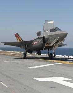 F-35B Short Takeoff at Sea | Flickr - Photo Sharing!