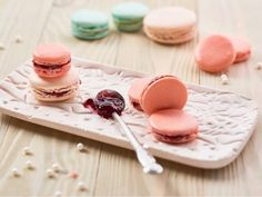recipe_for Klasszikus macaron Italian Macarons, Vanilla Macarons, Macaron Flavors, Macaron Recipe, Perfect Cookie, Pavlova, Something Sweet, Macaroons, Cookie Recipes