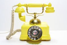 Old phone, yellow submarine, country style homes, vintage telephone, vintag Vintage Phones, Vintage Telephone, Rotary, Antique Phone, Retro Phone, Old Phone, Yellow Submarine, Country Style Homes, Best Phone