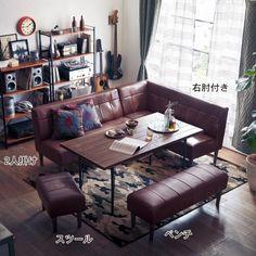 フェイクレザーダイニングソファー|通販のベルメゾンネット