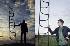 Charlie Styrbjörn Nilsson, Ladder, Gebrüder Thonet Vienna. Photo Jonas Lindsedt #design @ Gebrüder Thonet Vienna, Salone Internazionale del Mobile, Pad 20, Stand E07