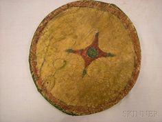 Cheyenne Painted Hide Dance Shield