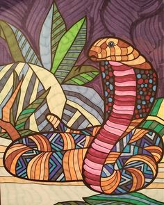 ColorIt Wild Animals Adult Coloring Book Colorist: Isabel Hu'Dat #adultcoloring #coloringforadults #adultcoloringpages #animalcoloringpages
