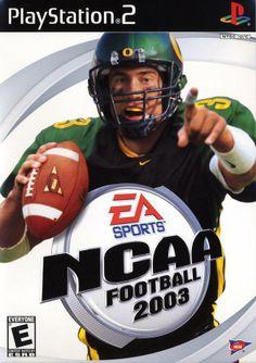NCAA Football 2003 [PlayStation 2], On the cover - Joey Harrington, Oregon Ducks