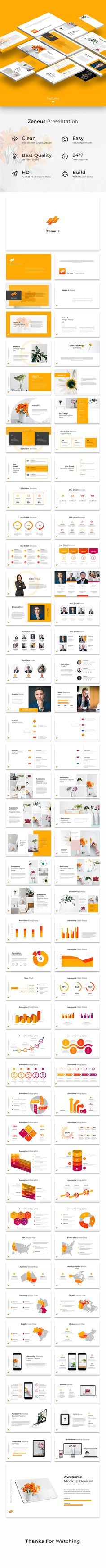 Zeneus - Powerpoint Template