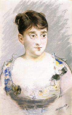 Édouard Manet - Portrait de Madame du Paty