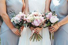 Raimon Bundo Elegance and Maids in Pretty Pale Blue | Love My Dress® UK Wedding Blog
