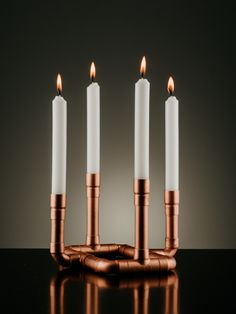 Candlesticks, Copper, Candle Holders, Candle Sticks, Candlestick Holders, Brass