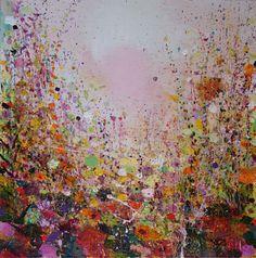 "Saatchi Online Artist: Sandy Dooley; Acrylic 2013 Painting ""Bright, Shiny Autumn Morning"""