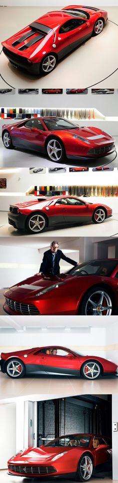 2012 Ferrari SP12 EC / Eric Clapton / 3 mio GBP / BB tribute / 458 Italia based / Pininfarina / red black / Italy