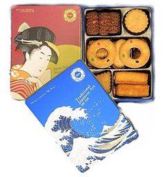 クッキー缶 浮世絵 (定番2缶セット)