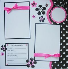 WAITING FOR YOU 12x12 Premade Scrapbook Pages by JourneysOfJoy