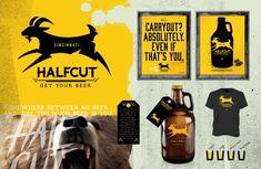 Halfcut Brand Materials by Neltner Small Batch