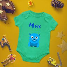 Personalized baby bodysuit