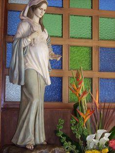 ORACIONES A TODAS LAS VIRGENES: Oraciones y Novena a la Virgen de la Dulce espera para lograr un embarazo 2