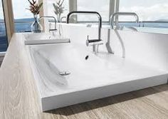 Design washbasin by Kaldewei in contemporary style for bathroom furniture Countertop Basin, Countertops, Lavabo Design, Spa, Bathroom Furniture, Frankfurt, Contemporary Style, Toilet, Modern Design