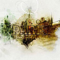 Paris by Adryane Driscoll Created with Anna Aspnes Designs TravelSampler Paris