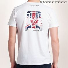 Classic 110 UK - White T - Masc - Back