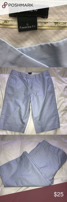 Jcrew trouser bermudas Blue bermudas trouser like J. Crew Shorts Bermudas
