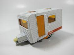 Vintage Matchbox Superfast No 31 Caravan camper Made in England Lesney | eBay