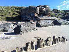 WW II bunker at Malo les bains