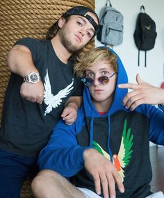 Logan Paul and Evan♥️