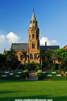 Government College University, Lahore is a co-educational public university located on The Mall in Lahore, Pakistan.