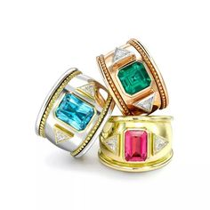 Theo Fennel Iconic Bombes rings