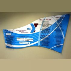 Custom Designed Donor Recognition Walls